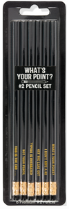 What's Your Point? Pencil Set