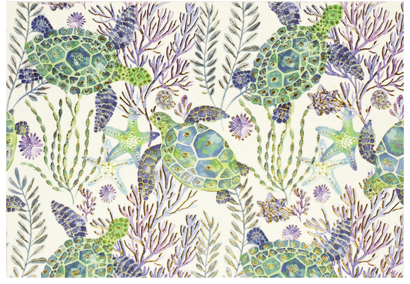 Peter Pauper Press Boxed Notecards - Sea Turtles