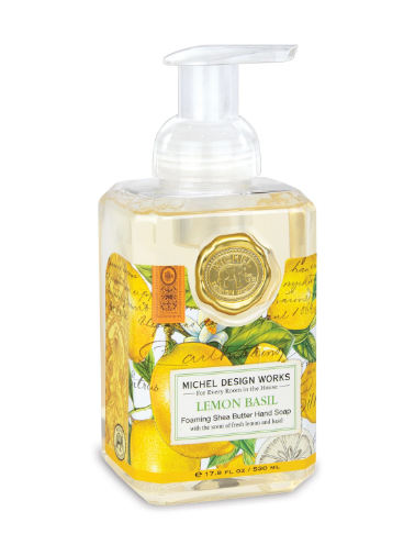 Michel Design Foaming Soap - Lemon Basil