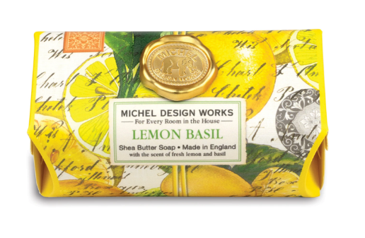 Michel Design Bar Soap - Lemon Basil
