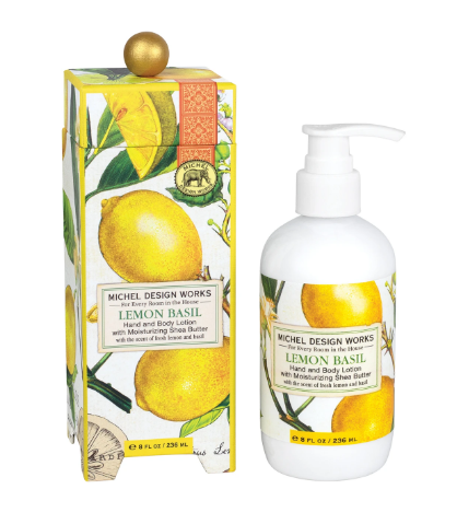 Michel Design Hand Lotion - Lemon Basil