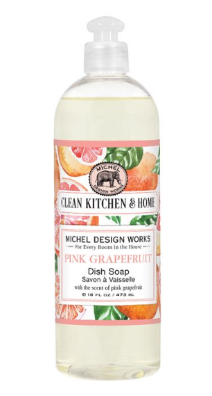 Michel Design Dish Soap - Pink Grapefruit