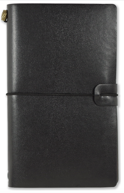Voyager Refillable Notebook - Black