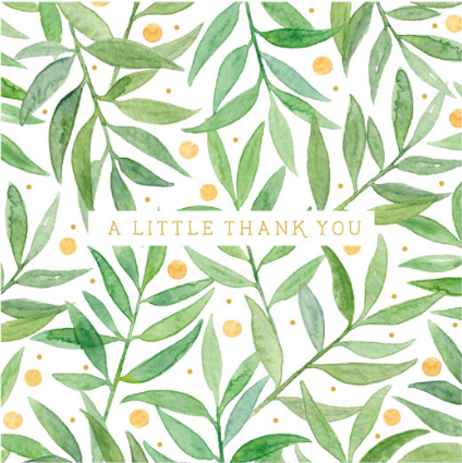 Thank You - A Little Thanks