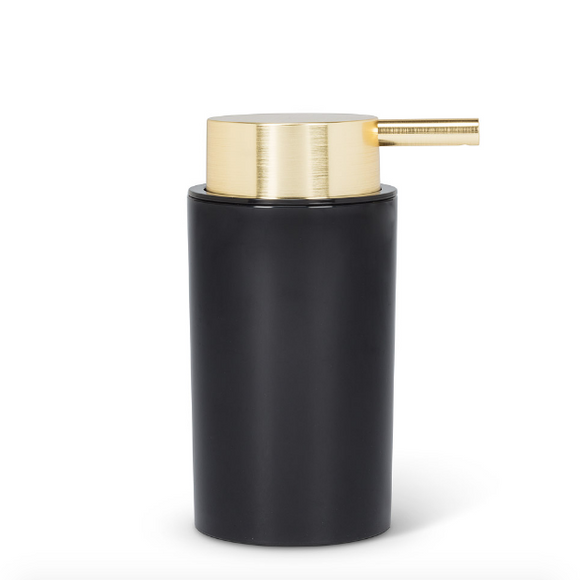 Cylinder Soap Pump - Gold