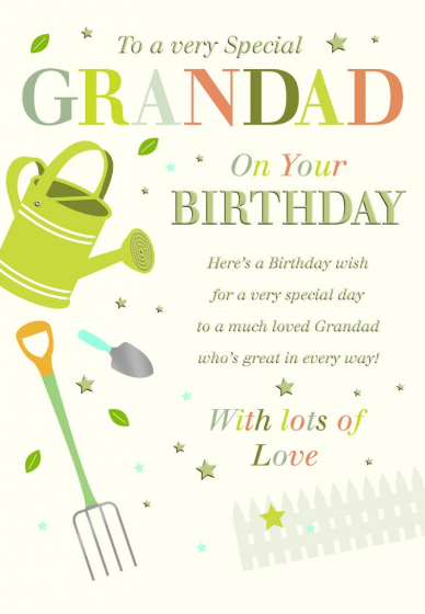 Birthday Relative Specific - Grandad