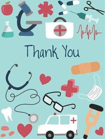 Thank You - Medical Icons