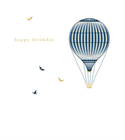 Birthday - Hot Air Balloon