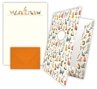 Quire Social Stationery Set - Cats