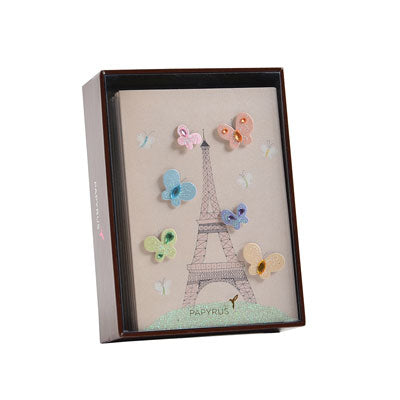 Papyrus Boxed Blank Notecards - Paris