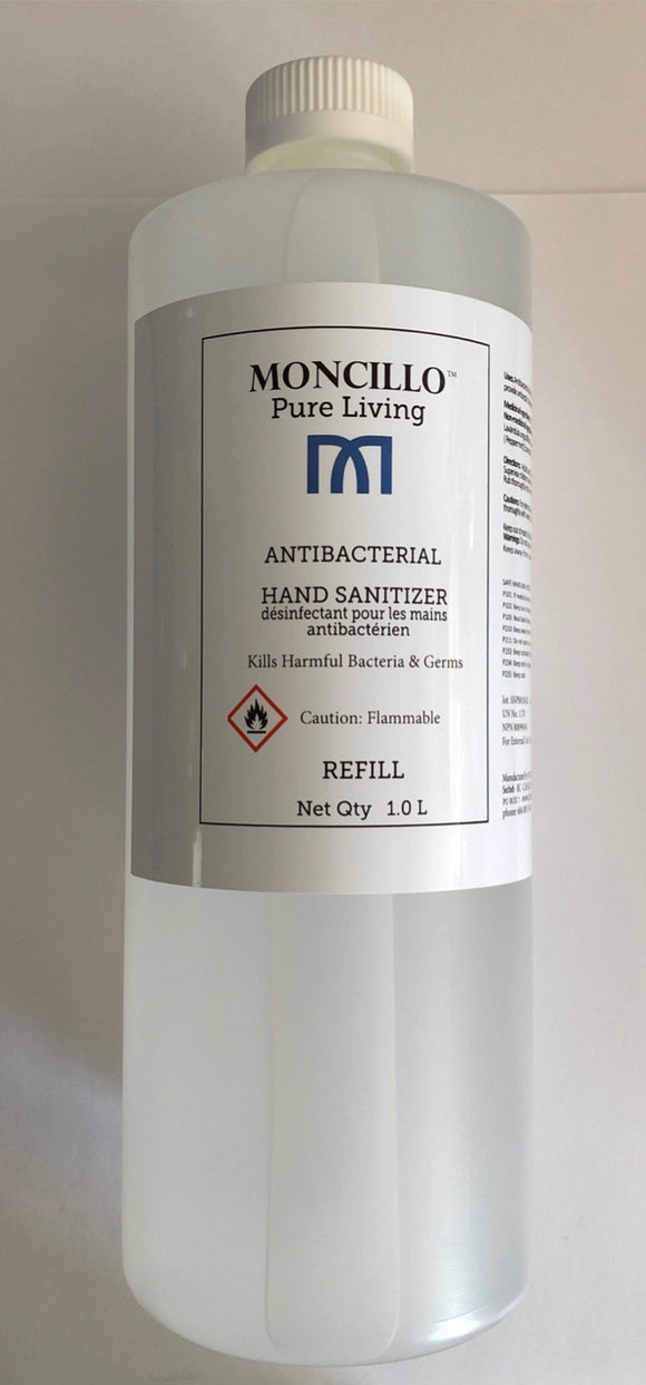 Moncillo Pure Living Hand Sanitizer Refill
