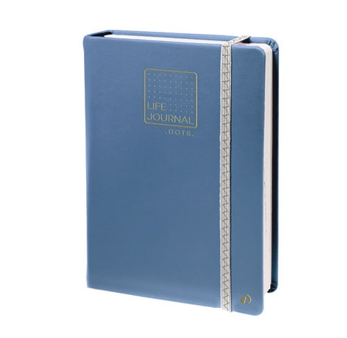 Life Journal Dot Matrix - Grey Blue