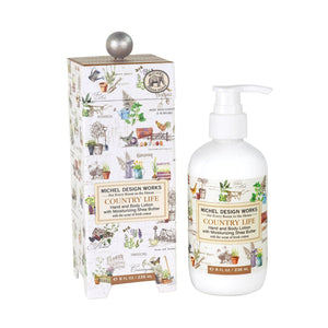 Michel Design Hand & Body Lotion - Country Life