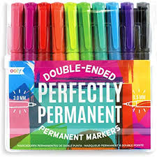 Ooly Perfectly Permanent Markers 10/pk