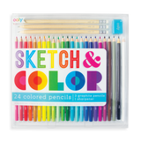 Sketch & Color Coloured Pencil Set