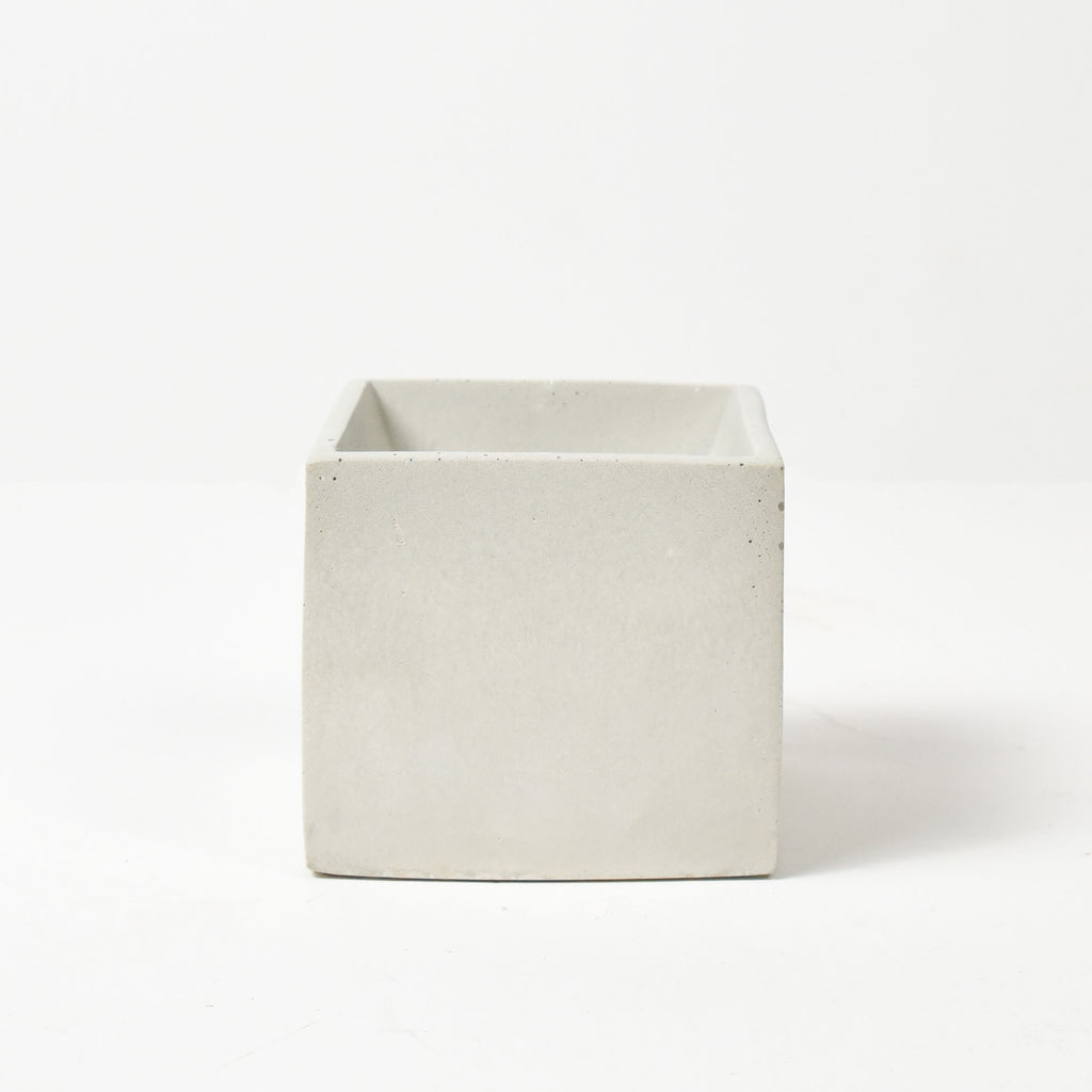 CONCRETE POTS | WHITE CUBE (LARGE)
