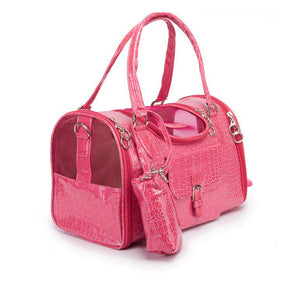 Luxury Pu Leather Outdoor Pet Purse Carrier Doggy Xo