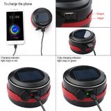 CAMPIX - 2 in 1  Foldable Solar Lantern for Outdoor & Emergency Powerbank
