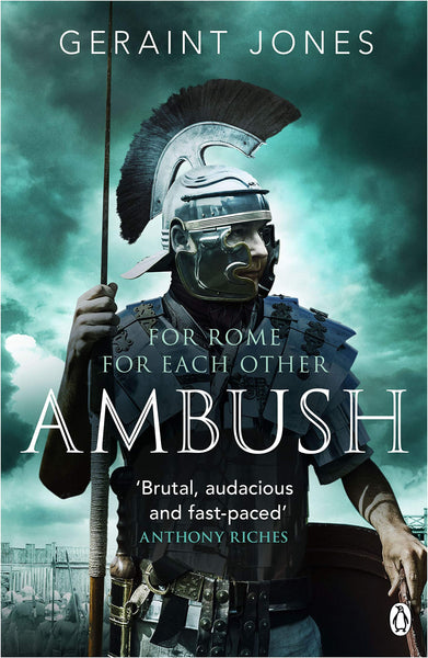 Signed first edition paperback of Ambush