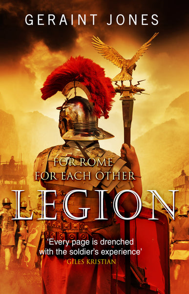 COMING SOON - Signed first edition paperback of Legion. Numbered.