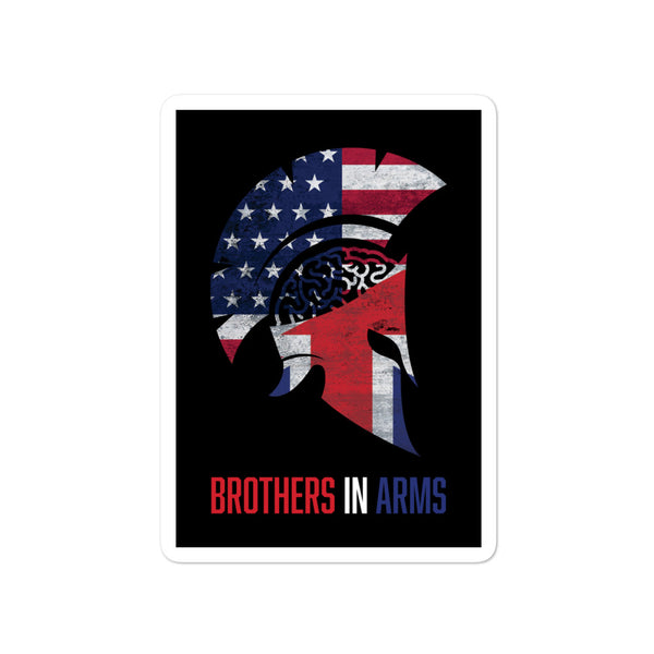 Brothers In Arms stickers