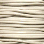 S'getti Plastic Cord, White, 1.8mm Thick, 150 feet