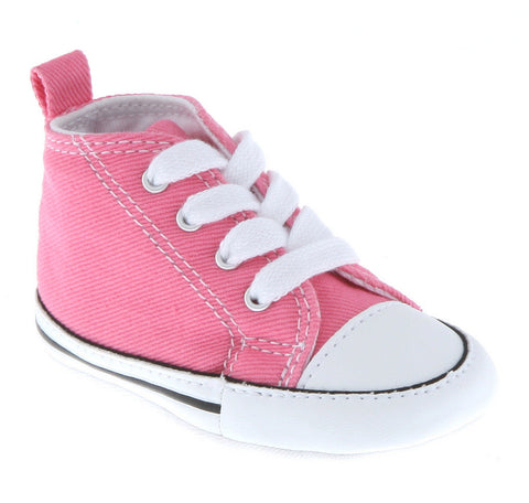 9575aa2fc7d2 Converse First Star 88871 Crib Trainers - Pink – Hoboken