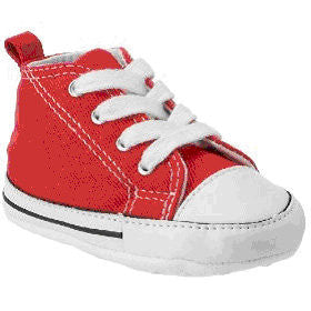427053a81122 Converse First Star 88875 Crib Trainers - Red – Hoboken