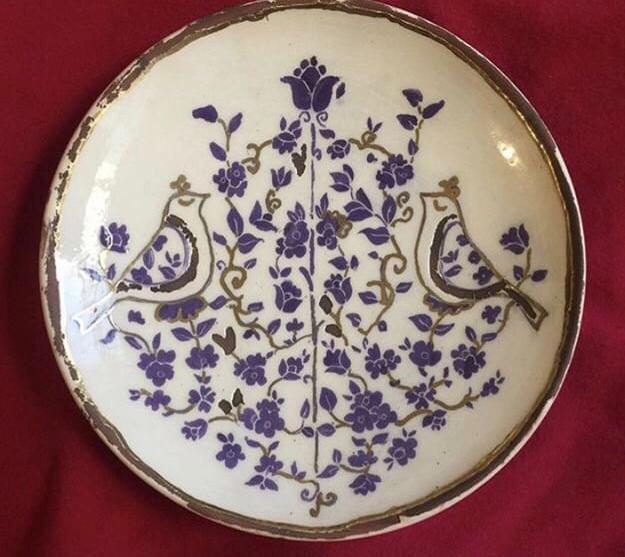 Decorative Hand painted Ceramic Plate