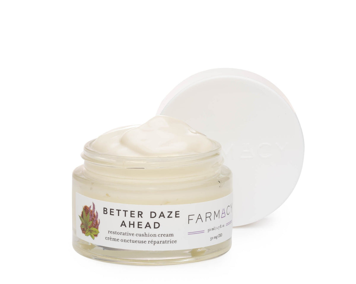 Better Daze Ahead moisturizer with cap off