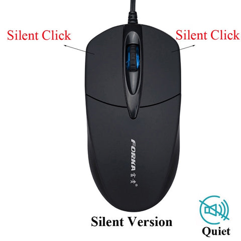 Silent/Sound Click Mini Wired Gaming Mouse