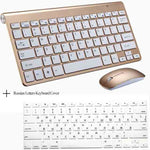 Portable Wireless Keyboard & Mouse