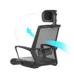 Lift Adjustable Gaming Chair With Handrail