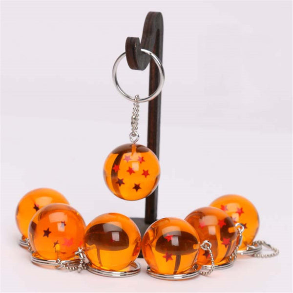 Dragon Ball Z 7 Stars Balls Keychains