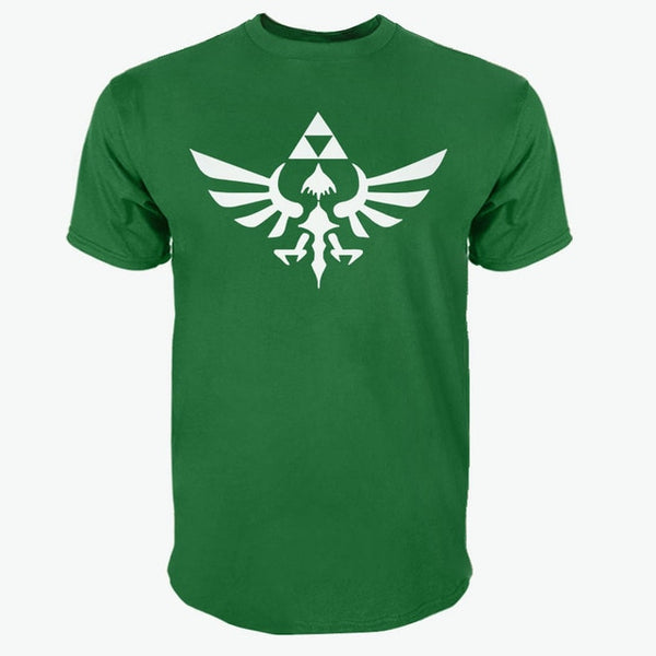 The Legend Of Zelda Triumphant Triforce O-Neck T-Shirt