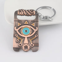 The Legend of Zelda Breath of the Wild Sheikah Slate Necklace & Keychain