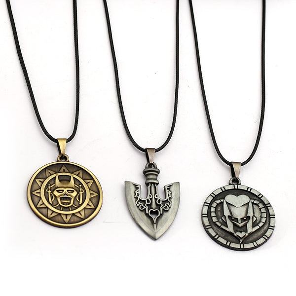 JoJo's Bizarre Adventure Killer Queen/Stand Arrow/Josuke Higashikata Necklaces