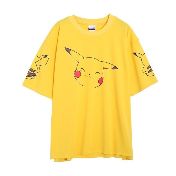 Pokemon Pikachu Women's Loose T-Shirt