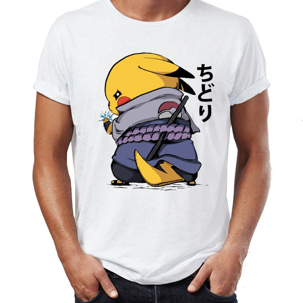 Pokemon/Naruto Mashup T-Shirts