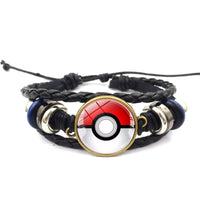 Pokemon Poke Ball Strap Bracelet