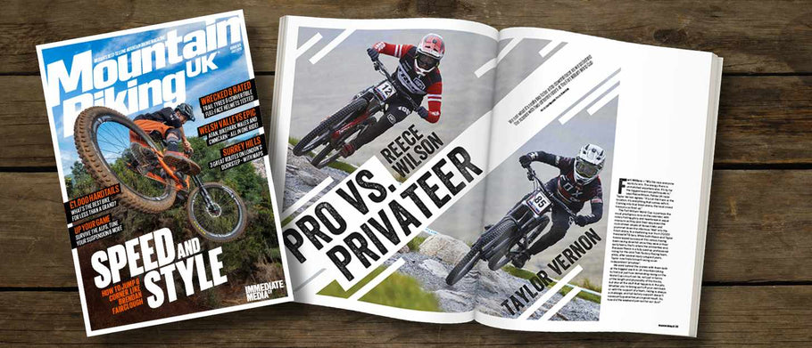 Little Rider Co Stealth Jersey featured in MBUK Magazine!