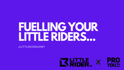Fuelling your Little Riders for quality time on the bike