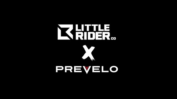 Little Rider Co and Prevelo Bikes Colab baner