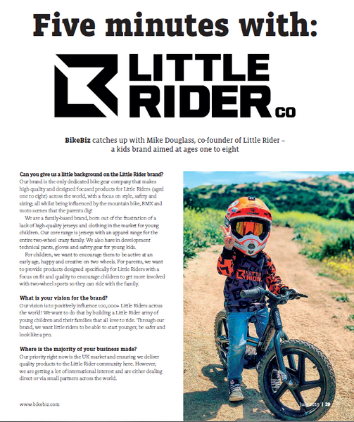 Little Rider Co magazine bike biz interview