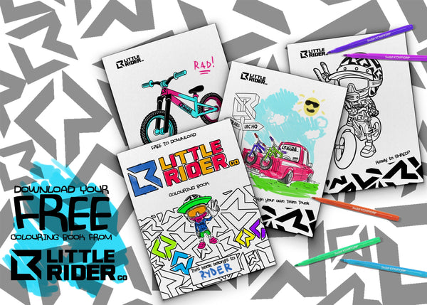 Little Rider Co Free Download Colouring book
