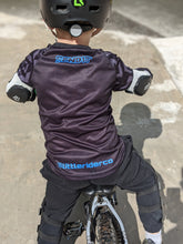 Load image into Gallery viewer, Little Rider Co 'SEND IT' Jersey - ELECTRIC BLUE