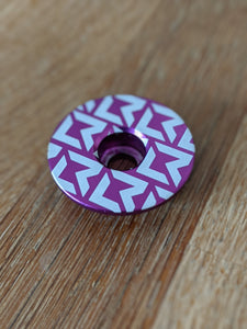 Little Rider Co - Stem Cap - PURPLE