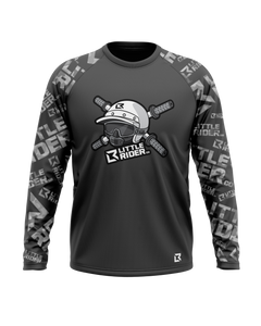 PRE-ORDER >> Little Rider Co 'Dark Grey' Jersey - SQUAD Series