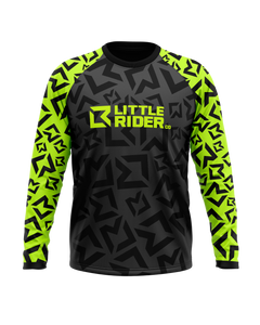 Little Rider Co 'Classic' Jersey - LIMEY