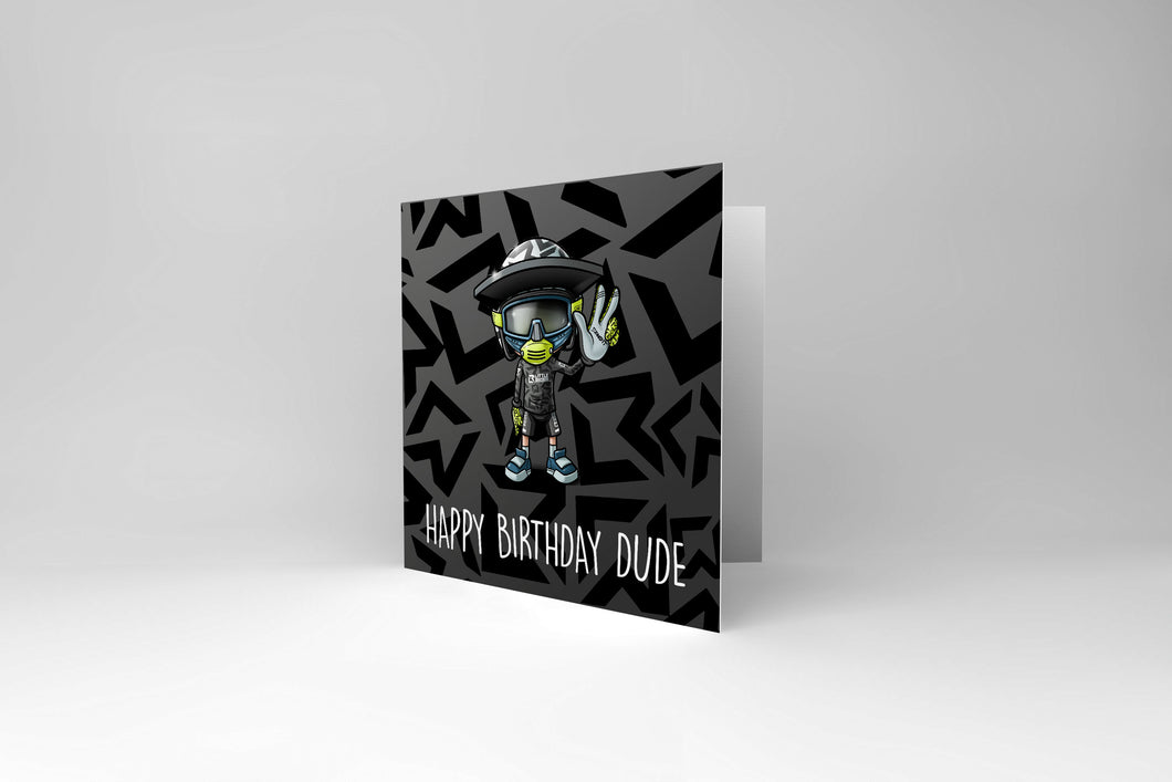 Little Rider Co Happy Birthday Dude / Dudette Card